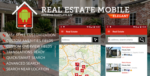 Real Estate Android Template